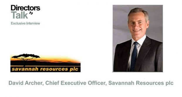 Savannah Resources plc Interview